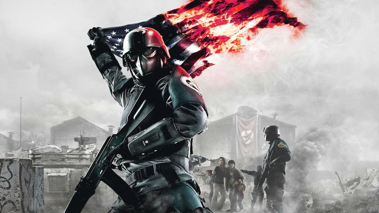 HOMEFRONT REVOLUTION shooter action military fighting apocalyptic sci-fi wallpaper