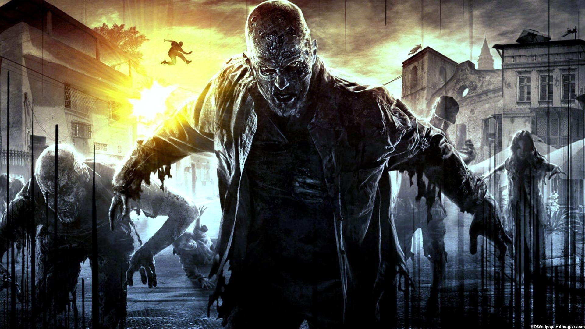 Dying Light Horror Survival Zombie Apocalyptic Dark Action
