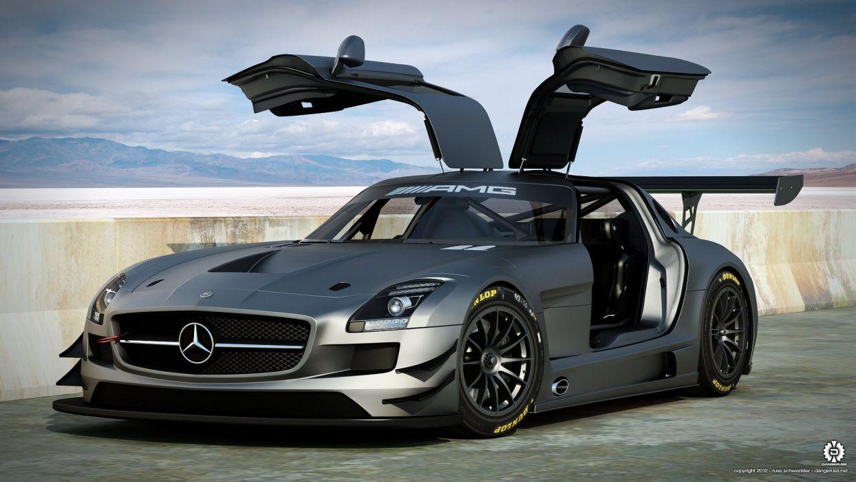 AMG Mercedes SLS GT3 wallpaper