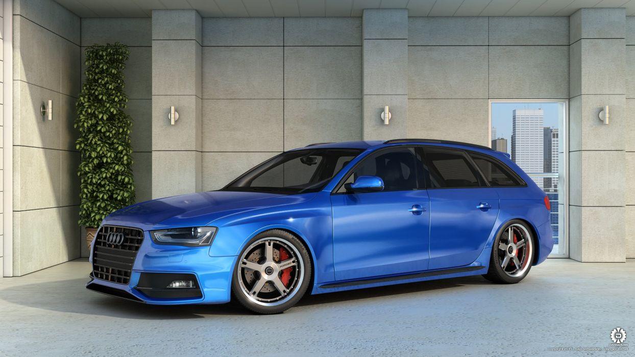 Audi RS4 Avant wallpaper