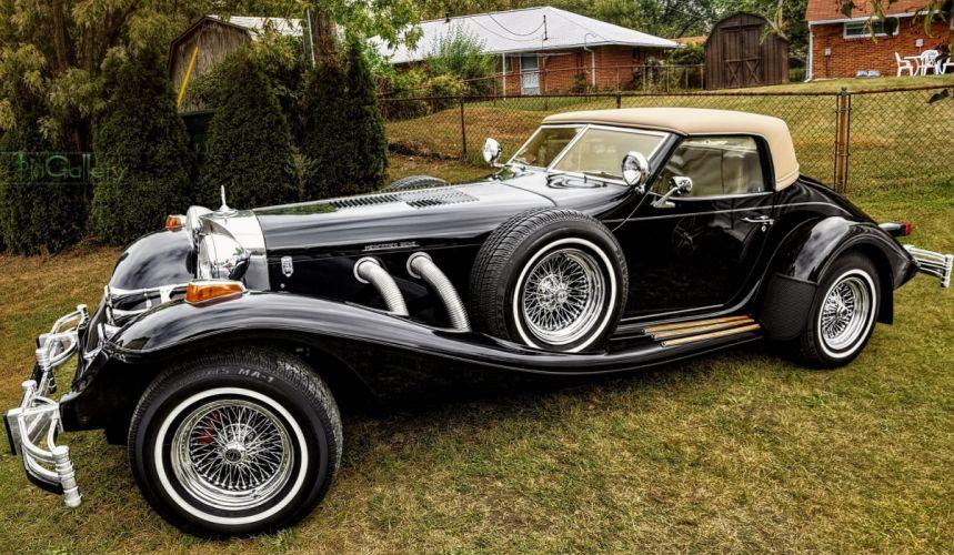 Beautiful classic Mercedes Typ 500K wallpaper