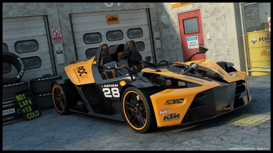 KTM X-BOW ROC racecar wallpaper