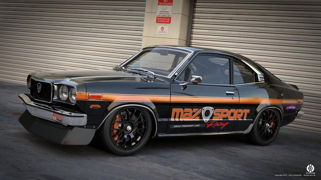 Mazda RX3 wallpaper
