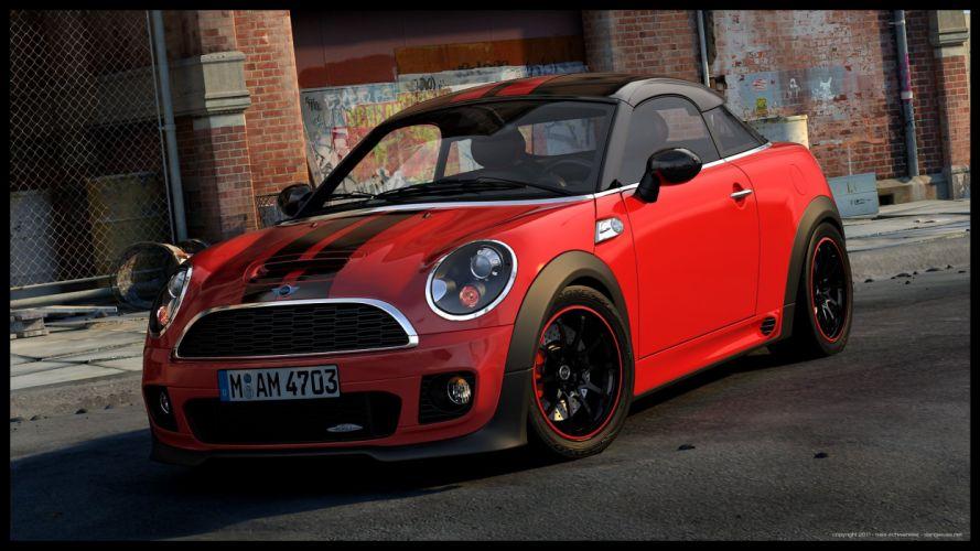 MINI Coupe JCW wallpaper