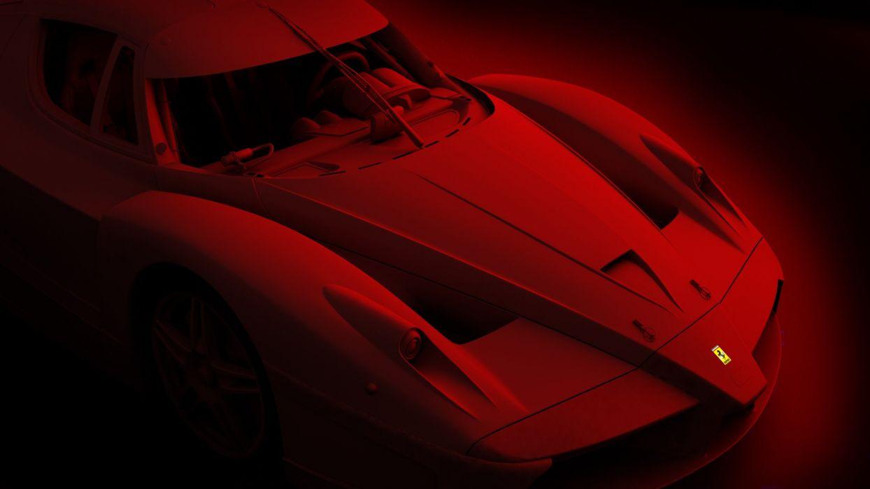 Rosso Corsa wallpaper