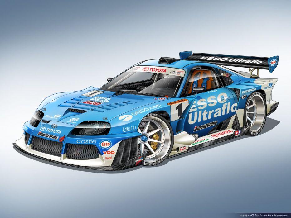 Super GT Supra wallpaper