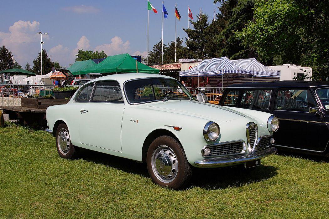 Alfa Romeo Giulietta Sprint 750 101 classic cars wallpaper