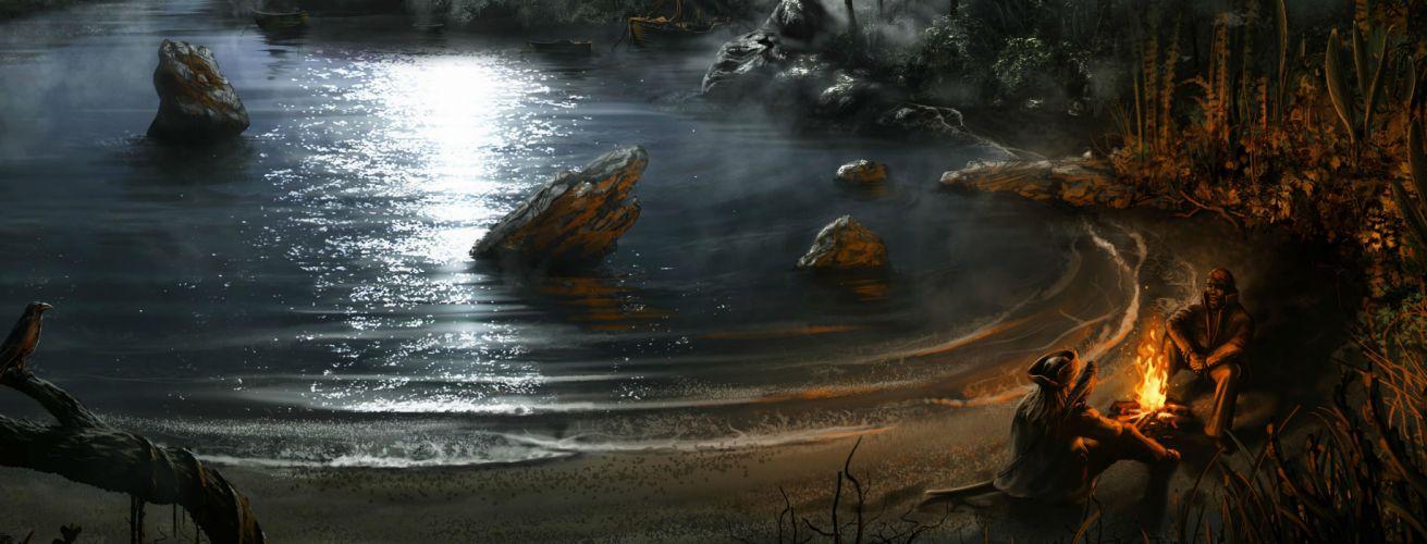 RAVENS CRY fantasy action adventure rpg pirate pirates wallpaper