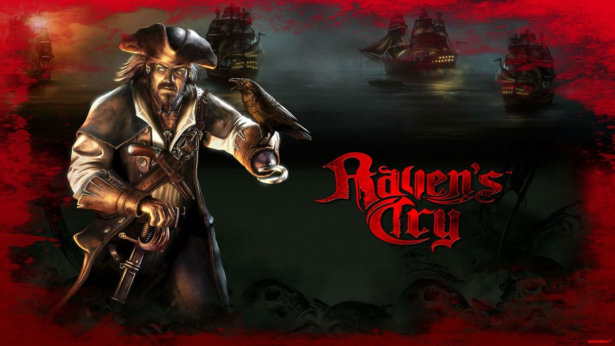RAVENS CRY fantasy action adventure rpg pirate pirates poster wallpaper