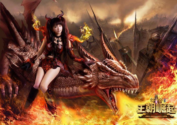 RNITY fantasy mmo rpg fantasy platform 1deternity fighting online warrior cosplay wallpaper