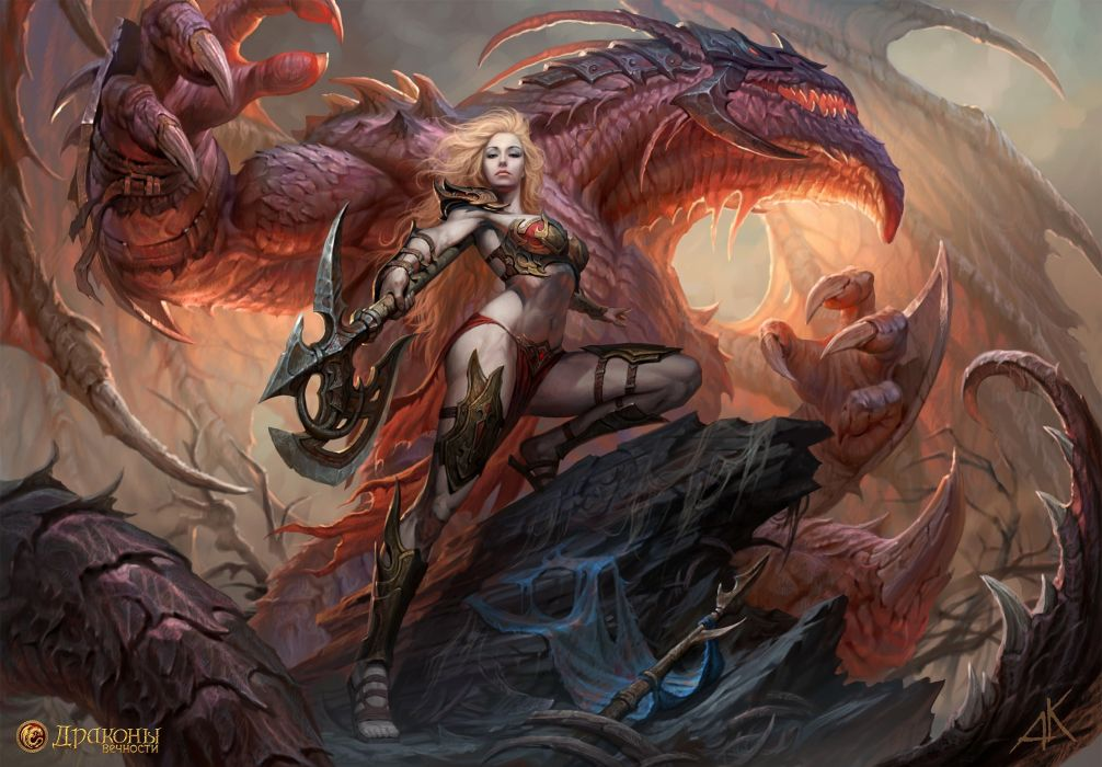 RNITY fantasy mmo rpg fantasy platform 1deternity fighting online warrior poster wallpaper