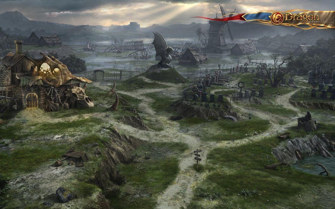 RNITY fantasy mmo rpg fantasy platform 1deternity fighting online poster wallpaper
