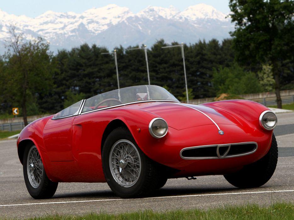 Alfa Romeo 2000 Sportiva Spider classic cars wallpaper