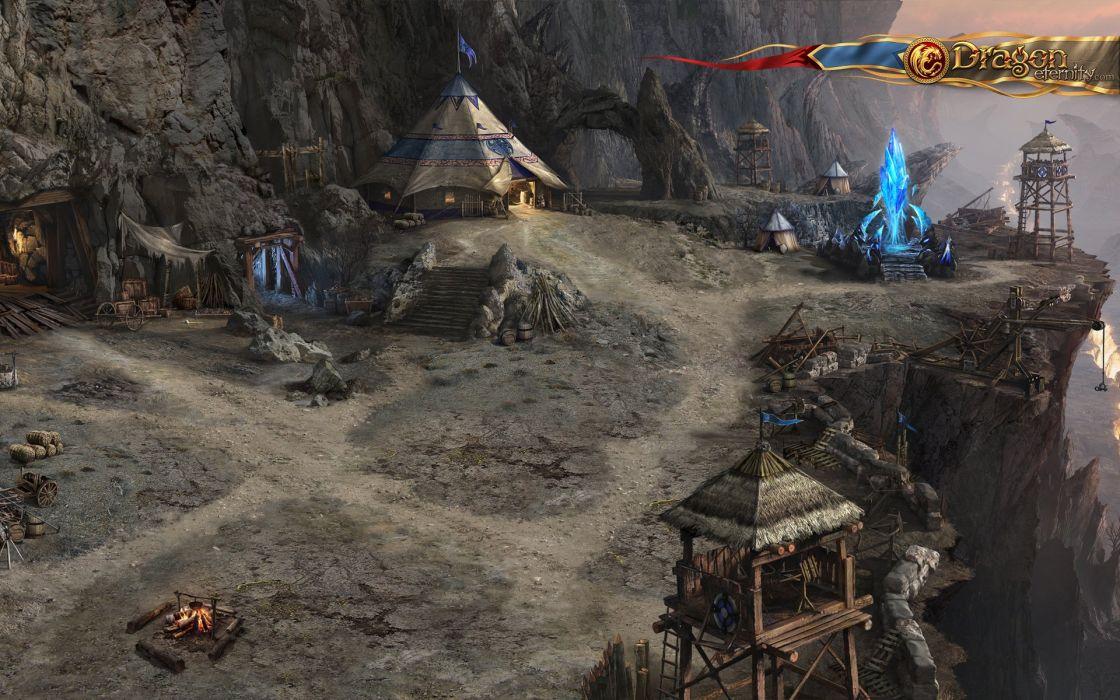 DRAGON ETERNITY fantasy mmo rpg fantasy platform 1deternity fighting online poster wallpaper