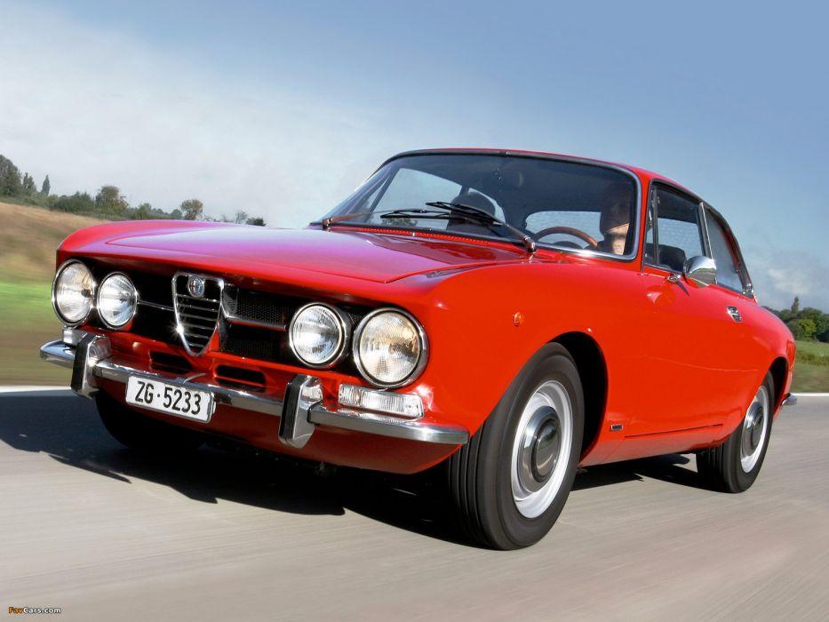 Alfa Romeo 1750 GT Veloce cars classic wallpaper