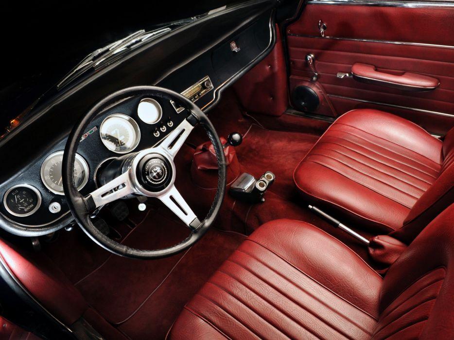1964 1966 Alfa Romeo Giulia GTDA convertible classic cars wallpaper