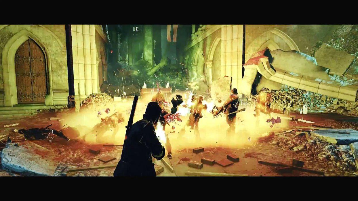NAZI ZOMBIE ARMY TRILOGY survival horror shooter dark action 1zatrilogy apocalyptic nazi fighting tactical sci-fi sniper elite wallpaper