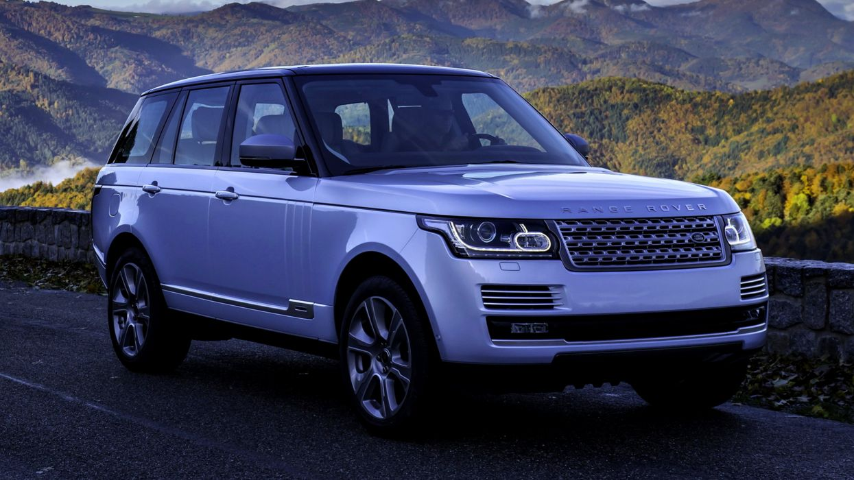 Range-Rover Autobiography Hybrid 2014 cars motors speed Purple wallpaper