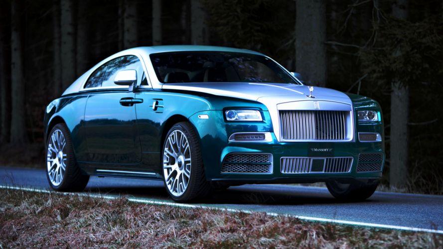 Mansory Rolls-Royce Wraith 2014 cars speed motors wallpaper