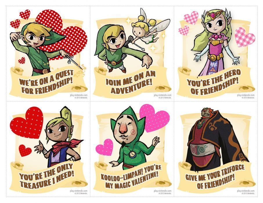 VALENTINES DAY mood love holiday valentine heart zelda wallpaper