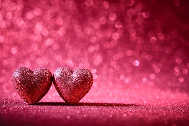 VALENTINES DAY mood love holiday valentine heart bokeh wallpaper