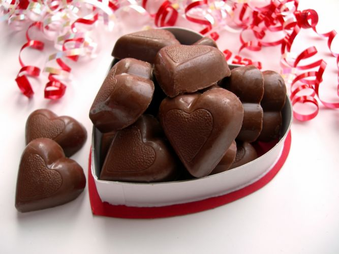 VALENTINES DAY mood love holiday valentine heart candy chocolate sweets wallpaper