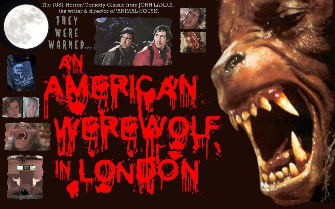 An American Werewolf In London wallpaper