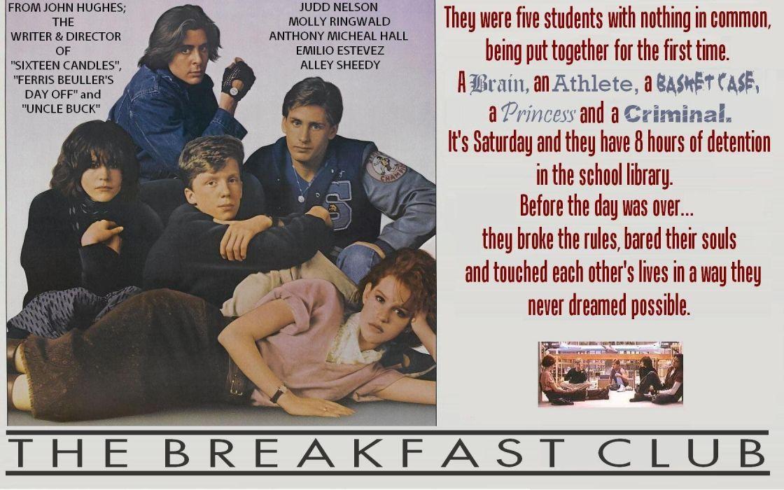 John Hughes' The Breakfast Club wallpaper