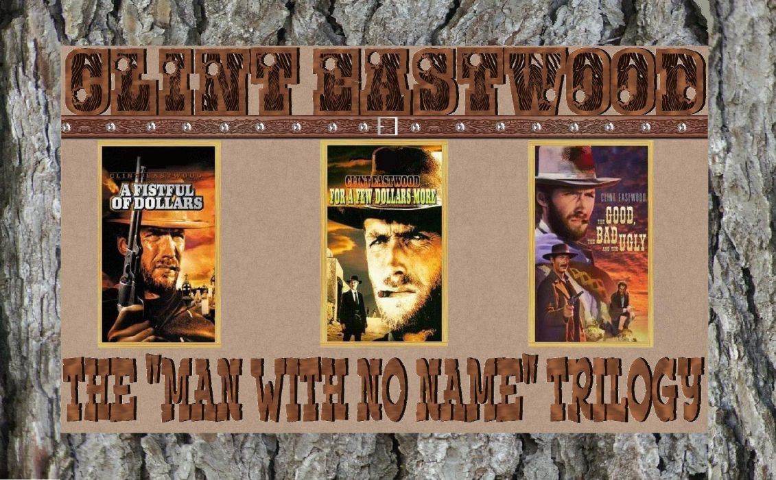 Clint Eastwood in The Man With No Name Trilogy wallpaper