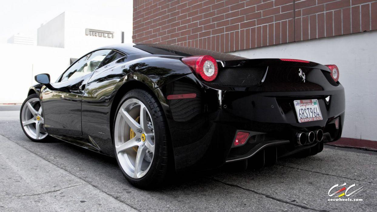 2015 CEC wheels tuning cars supercars coupe Ferrari 458 Italia wallpaper