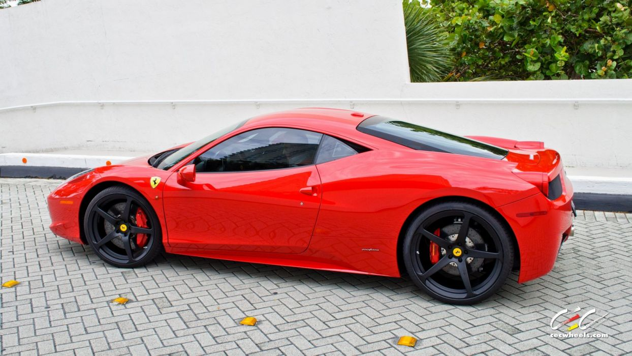 2015 CEC wheels tuning cars supercars coupe Ferrari 458 Italia wallpaper