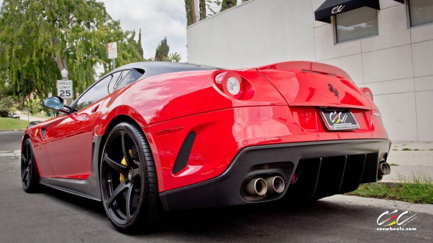 2015 CEC wheels tuning cars supercars coupe Ferrari 599 gto wallpaper
