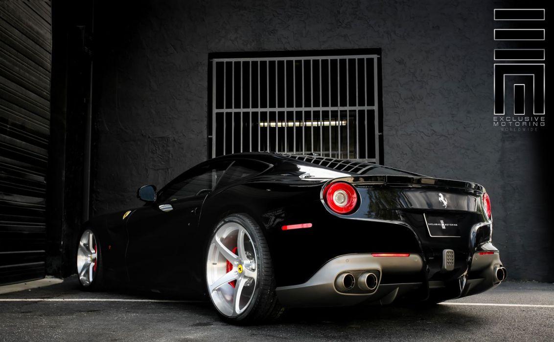 2015 CEC wheels tuning cars supercars coupe Ferrari f12 berlineta wallpaper