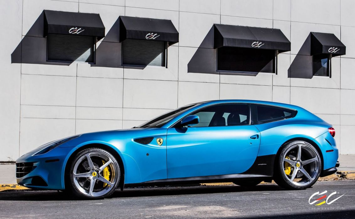 2015 CEC wheels tuning cars supercars coupe Ferrari FF 2+2 wallpaper