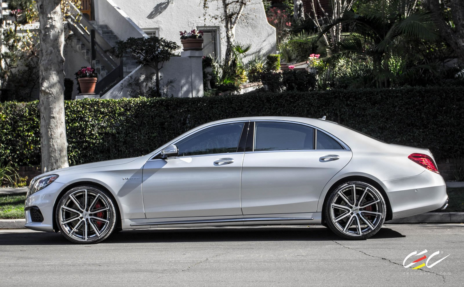 2015 Cec Wheels Tuning Cars Mercedes Benz S63 Amg