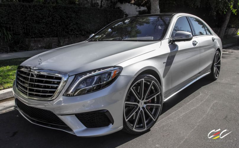 2015 CEC wheels tuning cars Mercedes Benz S63 AMG wallpaper