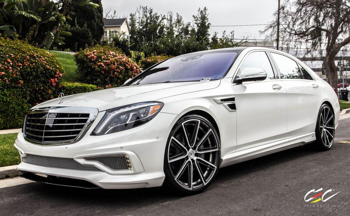 2015 CEC wheels tuning cars Mercedes Benz CARLSSON S550 wallpaper