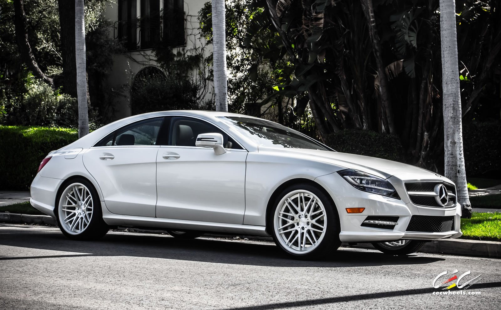 Related image with 2012 Mercedes Benz Cls 63 Amg On 20 Inch Vossen ...