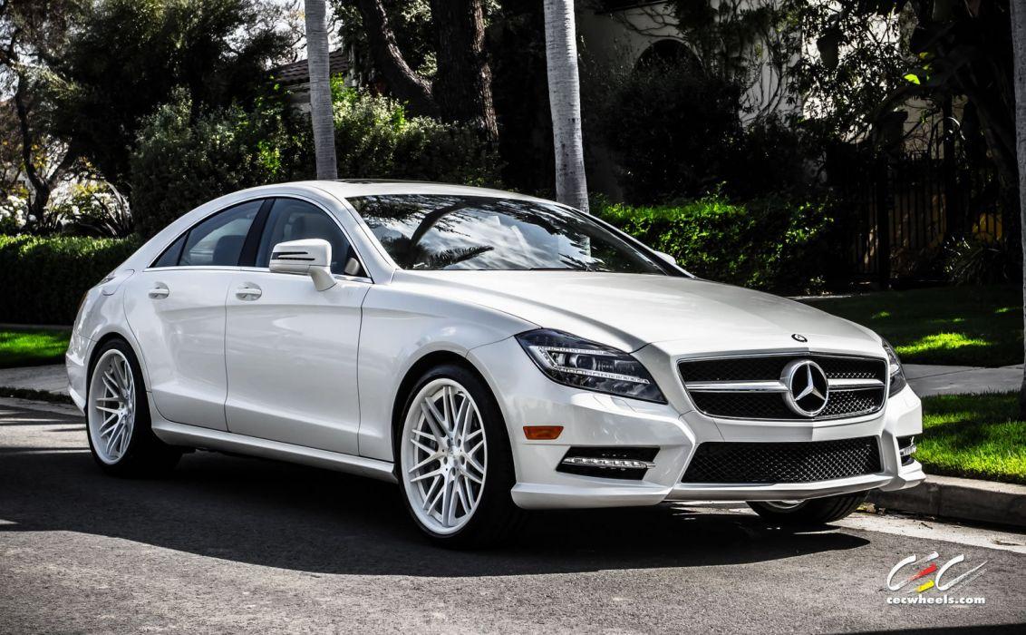 2015 CEC wheels tuning cars Mercedes Benz CARLSSON cls 550 wallpaper