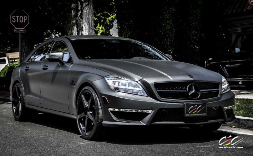 2015 CEC wheels tuning cars Mercedes Benz CARLSSON cls 63 amg wallpaper