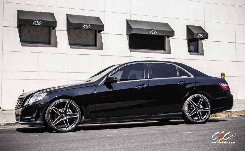 2015 CEC wheels tuning cars Mercedes Benz e-class wallpaper