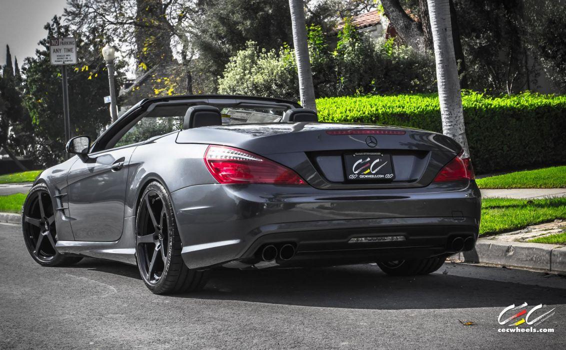2015 CEC wheels tuning cars Mercedes Benz sl-550 convertible wallpaper
