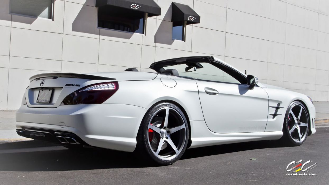 2015 CEC wheels tuning cars Mercedes Benz sl63 amg convertible wallpaper