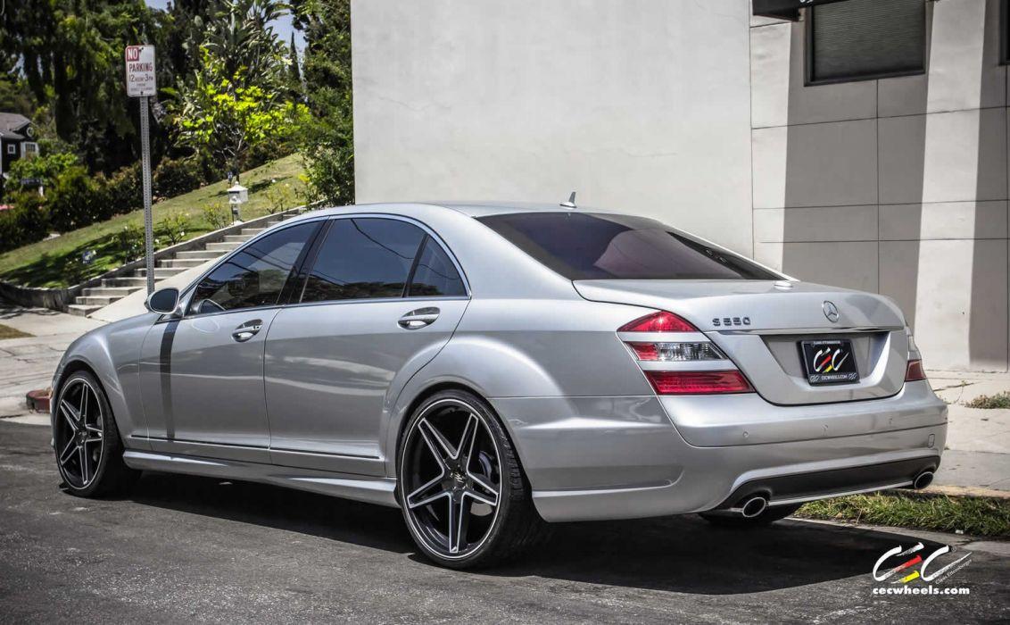 2015 CEC wheels tuning cars Mercedes Benz s550 wallpaper