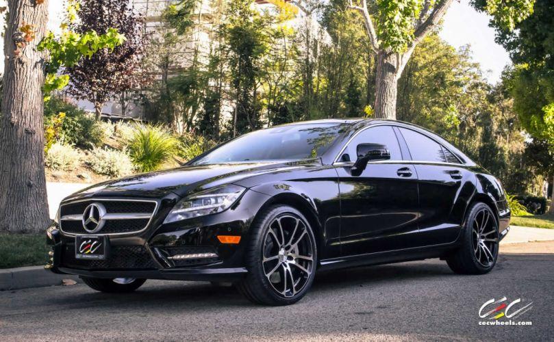 2015 CEC wheels tuning cars Mercedes Benz cls550 wallpaper