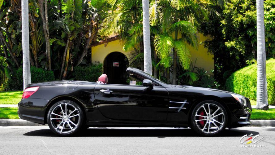 2015 CEC wheels tuning cars Mercedes Benz sl550 convertible wallpaper