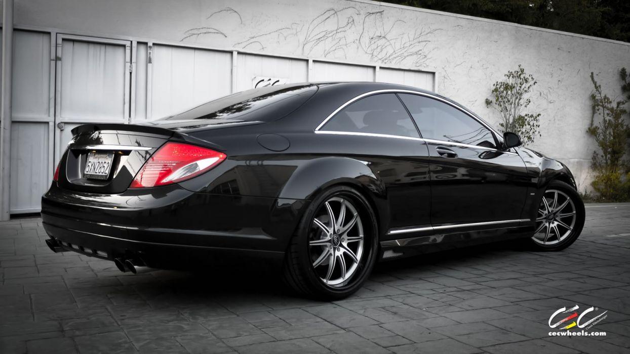 2015 CEC wheels tuning cars Mercedes Benz cl63 amg wallpaper