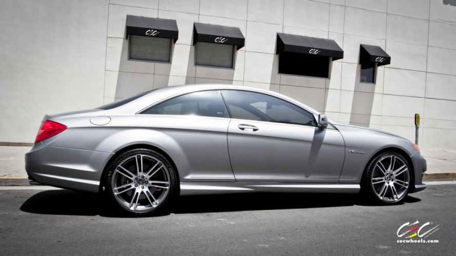 2015 CEC wheels tuning cars Mercedes Benz cl65 amg wallpaper