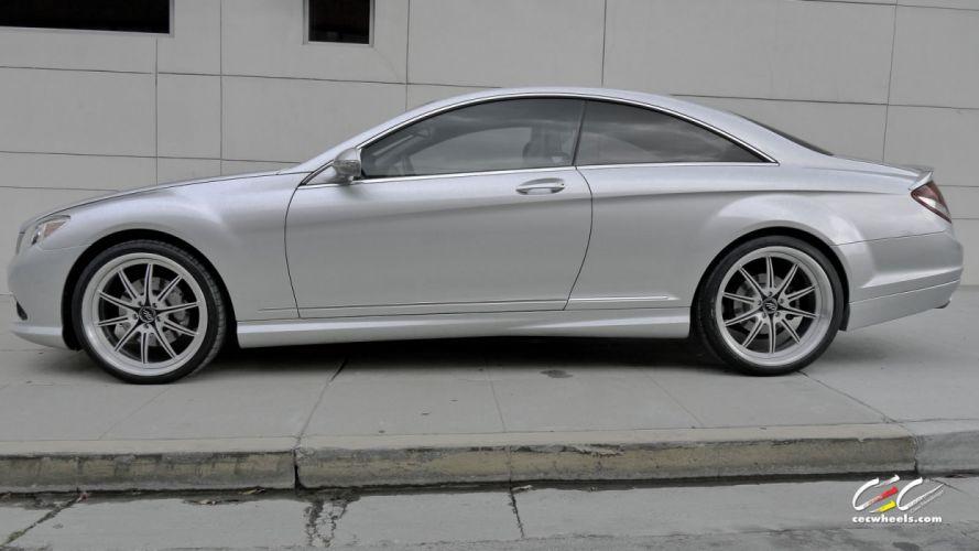 2015 CEC wheels tuning cars Mercedes Benz cl-class wallpaper