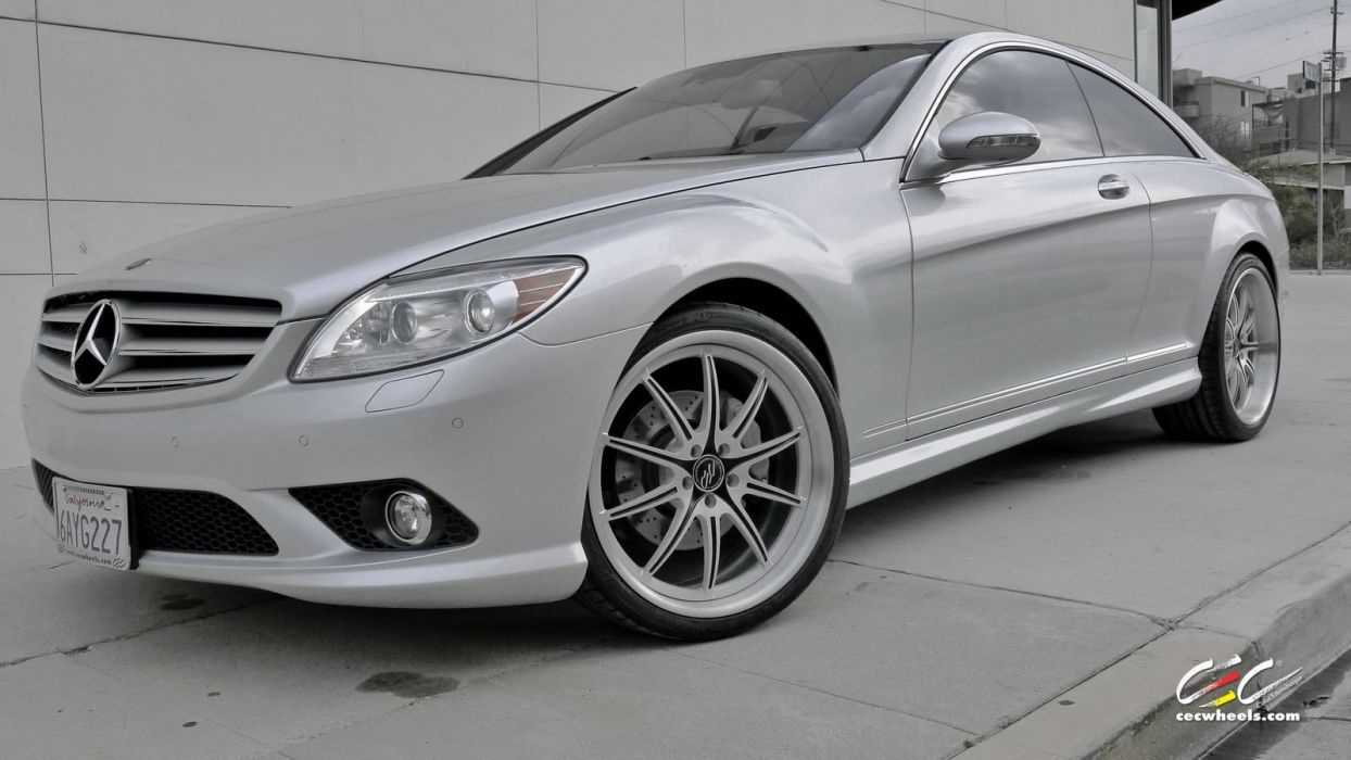 2015 CEC wheels tuning cars Mercedes Benz cl-class wallpaper